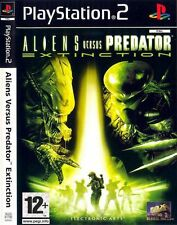 "NEW SEALED ALIENS VS PREDATOR EXTINCTION PS2 SONY PLAYSTATION GAME PAL-FR ""RARE"""