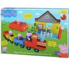 Peppa's Travel Adventure Construction Set by Peppa Pig BNIB SHIPS FAST