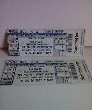 Bob Dylan Tickets from Pacific Amphitheatre, July 26, 2007