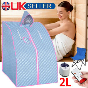 Portable 2L Steam Sauna Spa Room Home Room Full Body Slimming Detox Therapy Tent