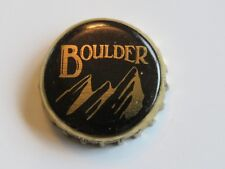 Bottle Cap Crown: Boulder Beer / Wilderness Pub Porter ~ Collect Breweriana Mtns