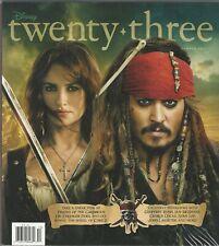 Disney twenty-three D23 Magazine Summer 2011 Pirates of the Carribean Cars 2 Nis