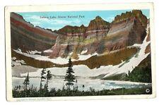 Iceberg Lake Glacier National Park Postcard