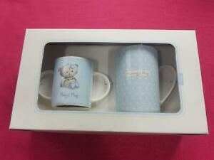 Gift Wishes Baby's Mug / Mummy's Mug Ceramic 2 in One Decorative Drink Gift Set