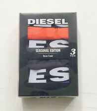 New Mens Boxed Diesel 3 Pack Boxer Short Size L J2