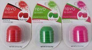 3 X OraLabs Chap-Ice Push Ups Lip Balm  - Strawberry/Cherry/Watermelon ***NEW***