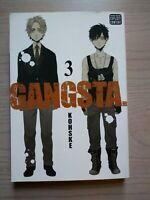 Gangsta 3, Seinen Manga, English, Kohske