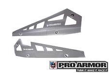 Pro Armor Rock Metal Flat Sliders Ghost Grey 14-19 RZR XP1000 XP1K 900S P141221G