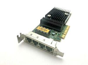 Sun ATLS1QGE 501-7606-06 Quad Port x8 Gigabit LAN UTP PCI Card Low Profile