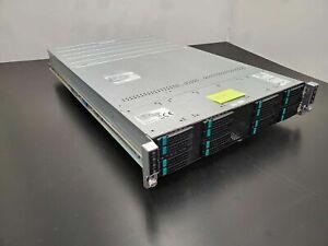 Intel Server Storage H2216XXKR 16x SAS HDD 8x Xeon E5-2680 256Gb DDR3-1600 Ram B