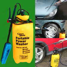 12 Litre Portable Power Washer, Pump, Sprayer, Car Valeting, Caravan, Cleaning