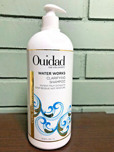 Ouidad Water Works Clarifying Shampoo 33.8oz Pro Size With Pump