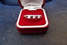 9ct Gold  Rubies & diamonds stones ring