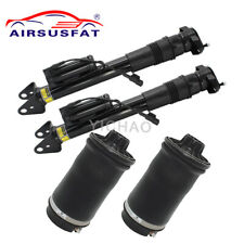 4PCS Rear Air Suspension Strut with ADS Spring For Mercedes ML GL W164 X164