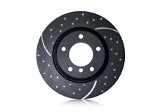 EBC TURBO GROOVE BRAKE DISCS FRONT GD1398 TO FIT CORSA D 1.0/1.2/1.4i/1.3CDTI