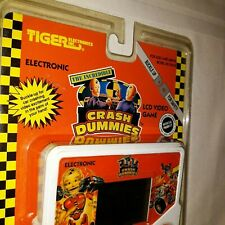 Vintage Tiger Hand Held The Incredible Crash Dummies Lcd Game 1992, New & Sealed