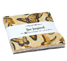 "Moda FABRIC Charm Pack ~ BEE INSPIRED ~ by Deb Strain  42 - 5"" squares"