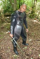Leather Medieval Viking Warlord Armour Roman Warrior armor LARP SCA Halloween