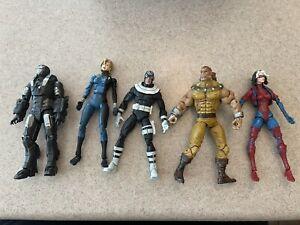 Marvel Legends Fodder Lot Of Action Figures See Description