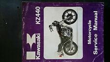 kawasaki kz440 service/workshop manual, suits 1980 81 models
