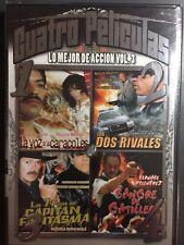 La Voz Los Caracoles/El Hombre La Marca/Capitan Fantasma/Sangre Gatillero DVD