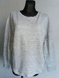G-Star Raw original womens cotton long sleeve grey sweatshirt size L
