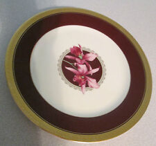 "Mikasa ROYAL ORCHID 9"" Luncheon Plate L3465 MINT RARE HTF"