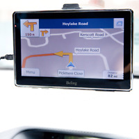 "3D Car GPS SAT NAV 8GB 7""inch Navigation UK MAP MP3 MP4 E-BOOK GAME VIDEO PLAYER"