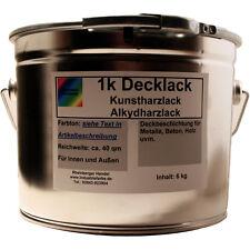 Kunstharz Lack, Alkydharz Lack, RAL 1015 Hellelfenbein glänzend, Lackfarbe, 6 kg
