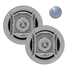 AXIS Marine Speakers 130W Flush Mount 5 Inch NEW Water & Rust Resistant 4 Ohm