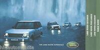 Land Rover Prospekt 7/02 2002 Defender Discovery Freelander Range Rover brochure