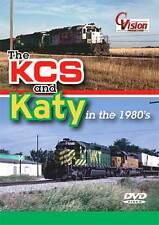 KCS and KATY in the 1980's DVD NEW Cvision Kansas City Southern Missouri Kansas