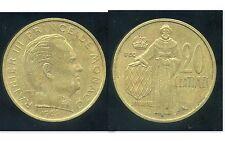 MONACO 20 centimes 1962  ( bis )