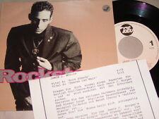 """7"""" - Jamie J Morgen / Rocksteady & Heaven can wait - MINT Info Sheet 1990"""
