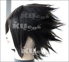 Final Fantasy VII ZACK/NARUTO Sasuke cosplay wig Anime tail party costumes hair