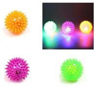 Stress Sensory Autism ADHD Toy Kids Adult Jokes gags Light Up Spikey Ball Fidget