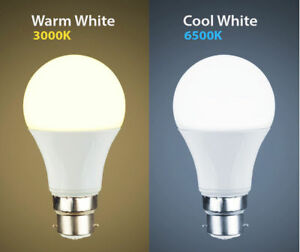 18 WATT Cool white Warm White LED BC B22 GLS Light Bulb Energy Saving Lamp