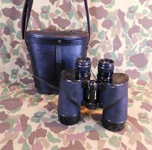 WW 2, USN / USMC 7X50 power Binoculars with Carrying Case