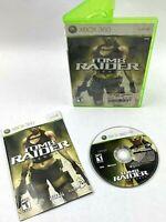 Tomb Raider Underworld (Microsoft Xbox 360 2008) Complete w/ Manual - Lara Croft