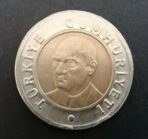TURKEY  2005  COIN  1 LIRASI  XF