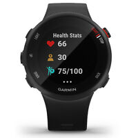 Garmin Forerunner 45S GPS Heart Rate Monitor Running Smartwatch, Black