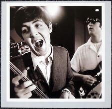 THE BEATLES POSTER PAGE . 1964 PAUL MCCARTNEY & JOHN LENNON . H28