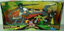 Lanard The Corps Elite Air Command~Copter/Motorcycle/Action Figure & More ~ NEW