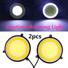 2COB LED Daytime Running Light Rainy and Fog Lamp DRL White Turn Signal Daylight