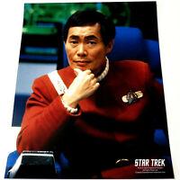 GEORGE TAKEI Mr. Sulu *STAR TREK TOS 8x10 COLOR PHOTOGRAPH*