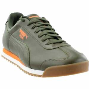 Puma Roma Classic Mens  Sneakers Shoes Casual   - Green - Size 10 D