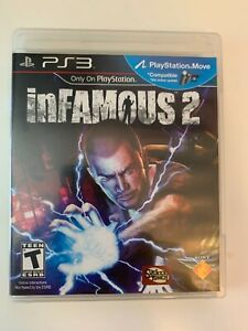 inFamous 2 (Sony PlayStation 3, PS3, 2011) Complete - Free Shipping