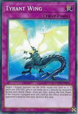 YU-GI-OH CARD: TYRANT WING - LEDD-ENA33 - 1ST EDITION