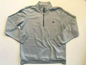 Adidas Men's Golf 1/4 Zip Pullover Sweatshirt Men's Large