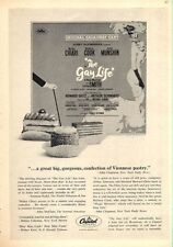 """1962 Capitol Records Print Ad Broadway Musical """"The Gay Life"""" Great Vintage Deco"""
